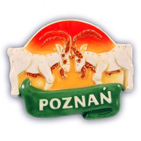 Aimant frigo en céramique Poznań.