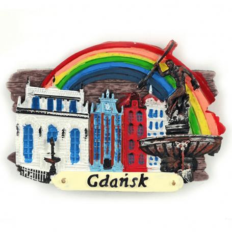 Magnes na lodówkę deska Gdańsk Neptun