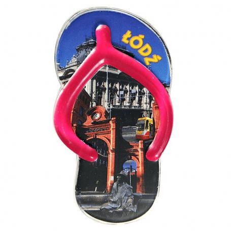 Magnes na lodówkę plastikowy klips - klapek Łódź