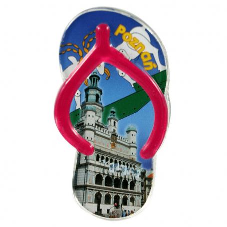 Magnes na lodówkę plastikowy klips - klapek Poznań