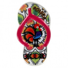 Clip en plastique aimant réfrigérateur - volets folkloriques