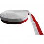Cinta Reptil blanco-roja 3 cm, paquete 50 m