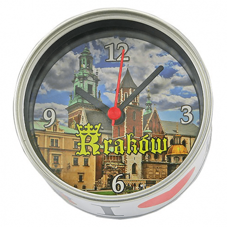 Horloge dans un cannette Cracovie