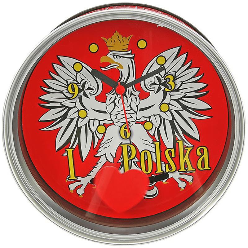 Zegar w puszce Polska