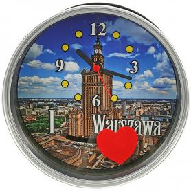 Uhr in einer Dose Warschau