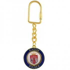 Schlüsselanhänger Radom Gold