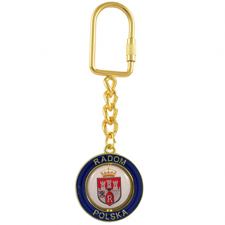 Porte-clés Radom gold