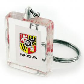 Keychain cube Wroclaw