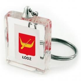 Keychain cube Lodz