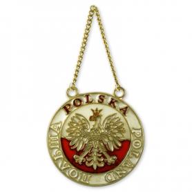 Buntglas-Polnisch-Adler