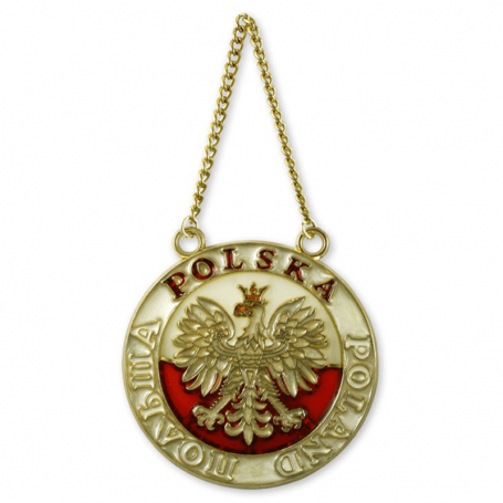 Vitral polaco águila