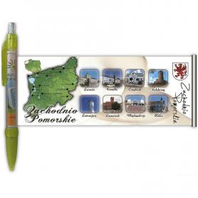 Västra Pommern utvecklade penna