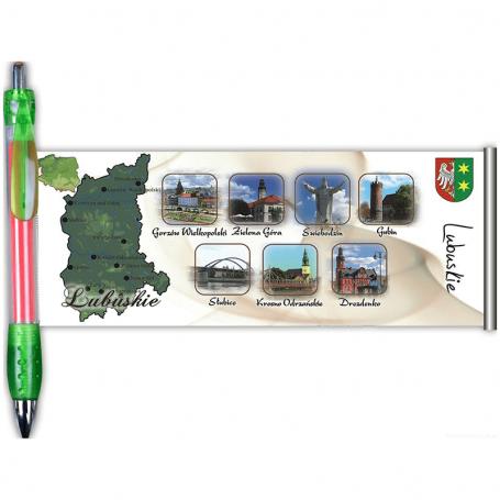 Długopis rozwijany Lubuskie