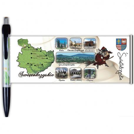 Długopis rozwijany Świętokrzyskie