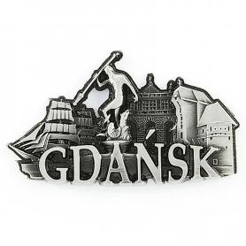 Metall Kühlschrankmagnet Gdańsk