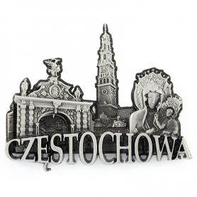 Metal fridge magnet Czestochowa