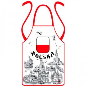 Fartuch kuchenny Polska