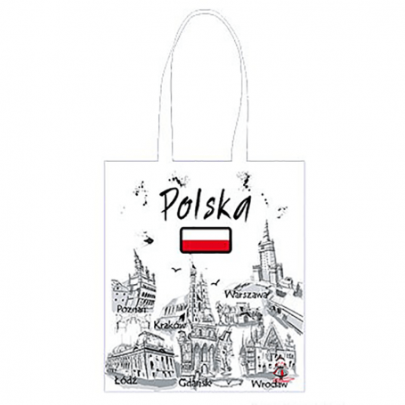Bolsa de algodón Polonia