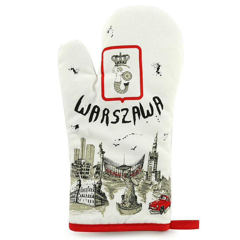 Le gant de cuisine Varsovie
