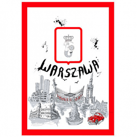 Küchentuch Warschau