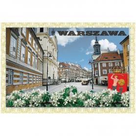 Carte postale 3D Varsovie Nouvelle ville
