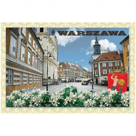 Pocztówka 3D Warszawa Nowe Miasto