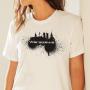 Koszulka Warszawa, spray
