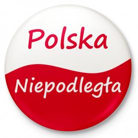 Independent Poland - button pin