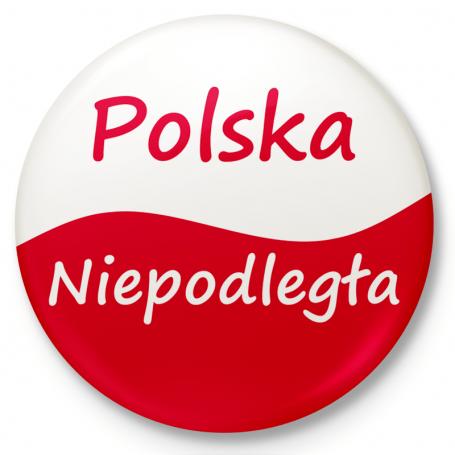 Mygtuko ženklelis, Lenkijos nepriklausomybe