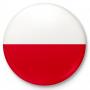 Goupille de bouton, goupille drapeau polonais