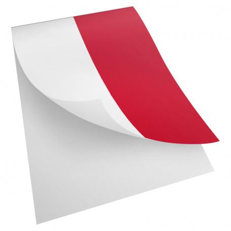 Naklejka flaga Polski
