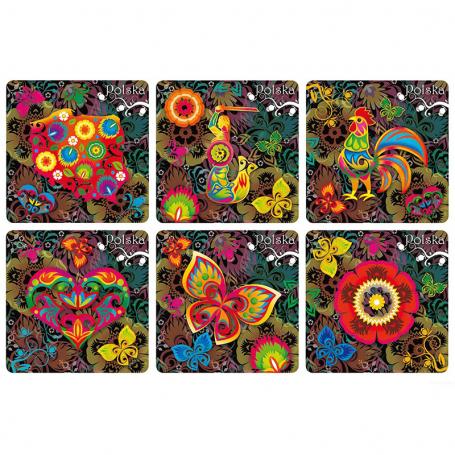 Arandelas de corcho populares polacas set 6 piezas