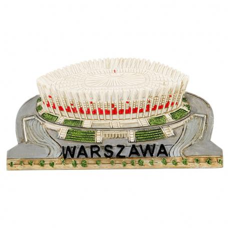 Šaldytuvo magnetas šaldytuvas Nacionalinis stadionas Varšuva