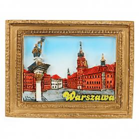 Magnes na lodówkę obraz Warszawa Zamek Królewski