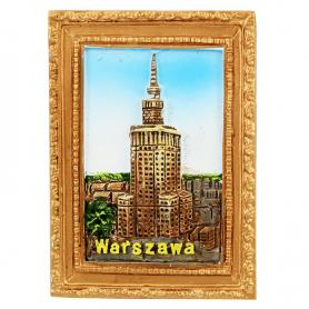 Magnes na lodówkę obraz Warszawa PKiN