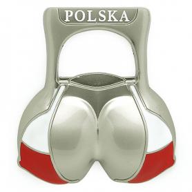 Kühlschrankmagnet Öffner Polen Bikini