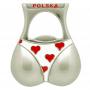 Magnes na lodówkę otwieracz Polska bikini