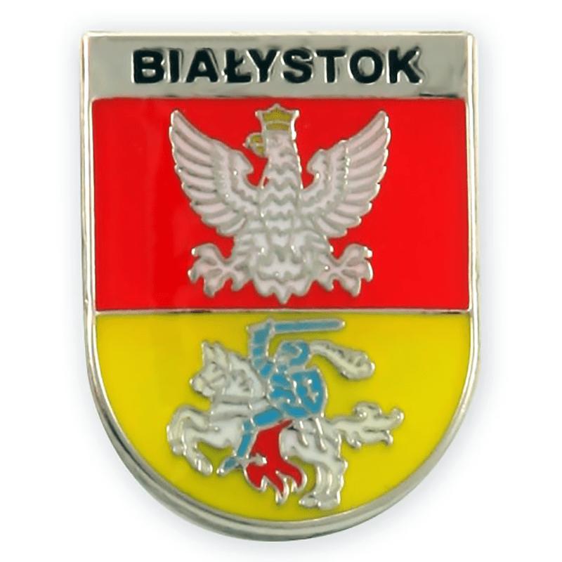 Pin, pin manteau des bras Białystok