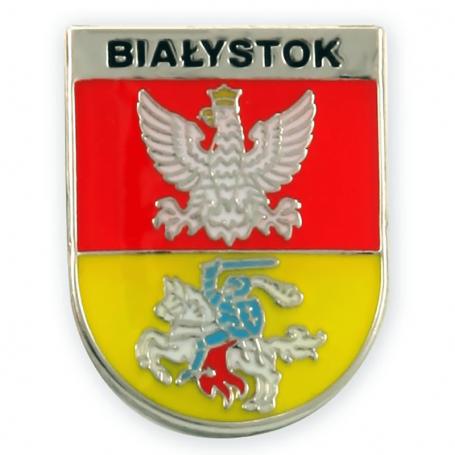 Pin, pin escudo de armas Białystok