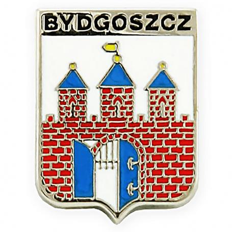 Przypinka, pin herb Bydgoszcz