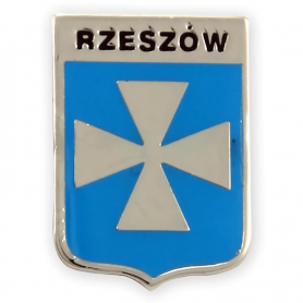 Pin, pin coat of arms of Rzeszów