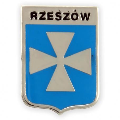 Przypinka, pin herb Rzeszowa