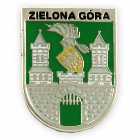 Pin, green herb coat of arms