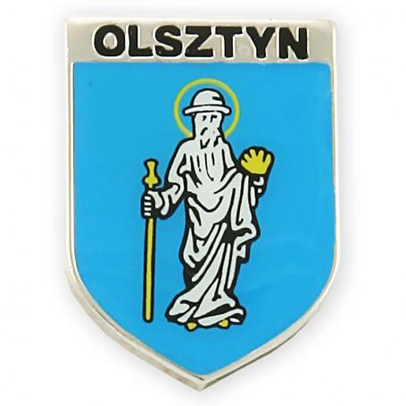 Przypinka, pin herb Olsztyna