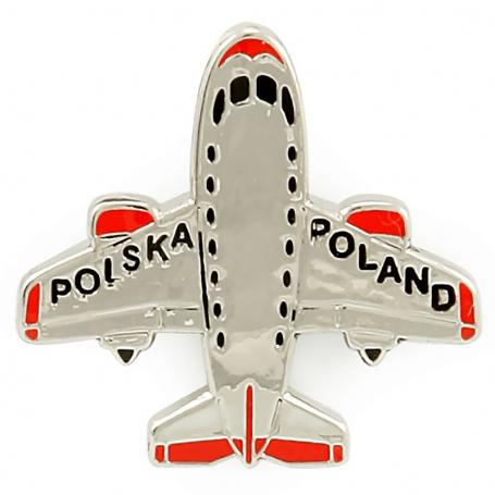Przypinka, pin samolot Polska