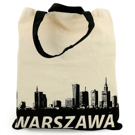 Sac en toile Varsovie