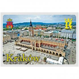Postkarte 3D Krakauer Tuchhalle
