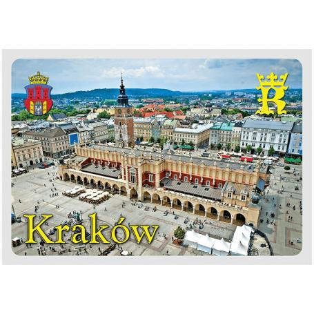 Pocztówka 3D Kraków Sukiennice
