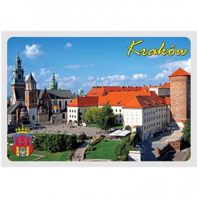 Pocztówka 3D Kraków Wawel