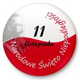 Button pin, pin National Independence Day